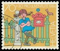 PippiLongstocking on stamps. And Pippi name in other languages: Estonian -   Pipi Pikksukk; French - Fifi Brindacier; German - Pippi Langstrumpf...