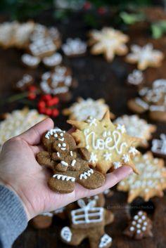 Biscotti per Babbo Natale: gingerbread e frolle