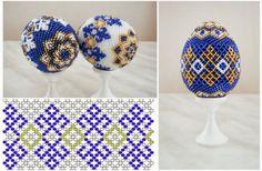 Ukrainian beaded eggs