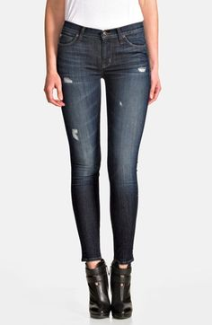 Hudson+Jeans+'Nico'+Mid+Rise+Skinny+Jeans+(Escape) / I wonder if these come in 'curvy'. Love the style.