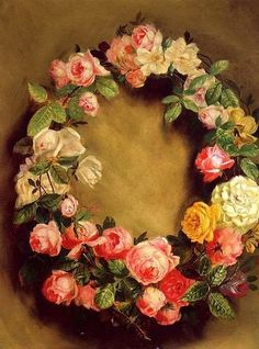 Crown Of Roses Pierre Auguste Renoir