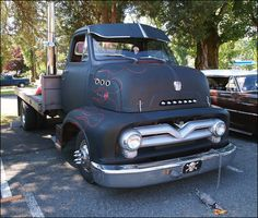 1953 1954 1955 1956 for coe flat bed with avisor Ford Tractors, Ford Pickup Trucks, Chevy Trucks, Hot Rod Trucks, Cool Trucks, Big Trucks, Shop Truck, Old Pickup, Cab Over