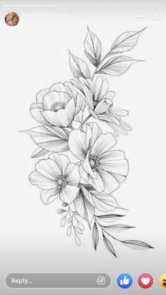 martin has this design available! Si estas interesad@ puedes p… – Flower Tattoo Designs Pati Nuce.martin has this design available! If you are interested you can p - Delicate Flower Tattoo, Small Flower Tattoos, Flower Tattoo Arm, Flower Tattoo Shoulder, Small Tattoos, Floral Thigh Tattoos, Feather Tattoos, Temporary Tattoos, Vintage Blume Tattoo