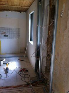 Küche während des Umbaus