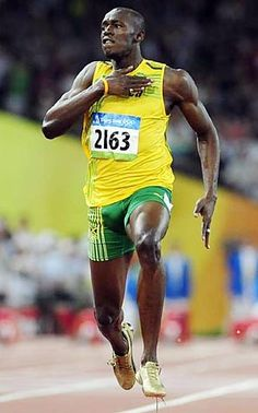 Usain Bolt running and dieting to lose weight www.joggingtoloseweight.org/running-and-dieting-to-lose-weight/