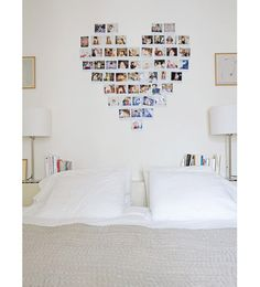 Bedroom: Photos & Bookshelf Bedhead