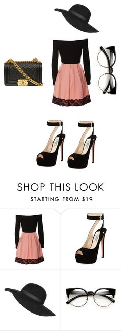 """""""Glam Chic"""" by zoellabae on Polyvore featuring Prada, Topshop and polyvoreeditorial"""
