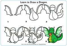 Download 50 Best Dragon Stencil designs images | Dragon design ...