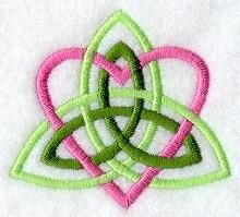 Machine Embroidery Designs at Embroidery Library! - Celtic (Quick Stitch)