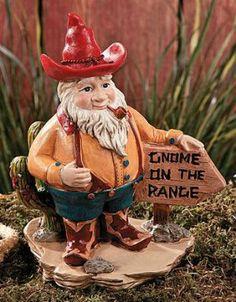 Gnome on the range :)