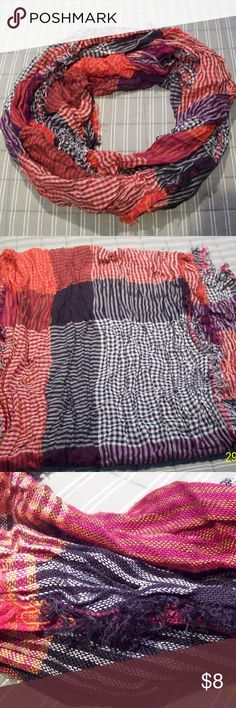 Colorful Scarf Pretty fall colors. Accessories Scarves & Wraps