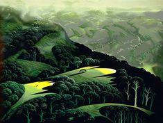 Fog and Storm and Rain - Eyvind Earle
