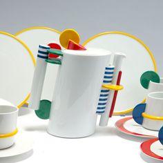 Q Shop - Lot 116A27 - Coffee set, 1985 Morandini, Marcello Rosenthal, Selb - Text: english Version