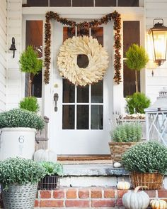 Fall Porch | Little White House Blog