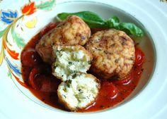 Risotto Balls with Chunky Chili Tomato Sauce