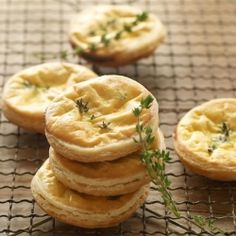 These mini farmer cheese pies make a perfect breakfast or lunch on the go.