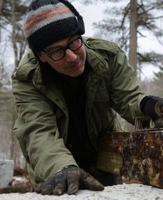 """I made a career of dumpster diving [as a set builder] in New York, and working for theater as a young man you learn that you're straightening nails and you're finding pallets,"" says Paul DiMeo of ""Building Wild."""