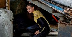 Negasonic Teenage Warhead Plays Hide & Seek in New 'Deadpool' Photos -- Brianna Hildebrand and Gina Carano are featured in the latest sneak peek at 'Deadpool', in theaters this Valentine's Day. -- http://movieweb.com/deadpool-movie-photos-negasonic-teenage-warhead-angel-dust/