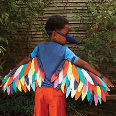 Shop Wild Wings Dress Up Set (Bird).  Dress up set features a pair of intricately stitched bird wings and a beak, so your little one can spend their afternoons zipping across the sky and eating all the birdseed they can.  Well, maybe not the birdseed part.