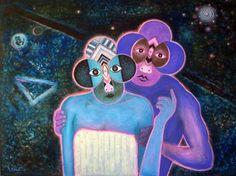Mahirwan Mamtani, Cosmic Encounter, 2003 •