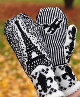 Paris mittens. Find pattern on Ravelry 6$