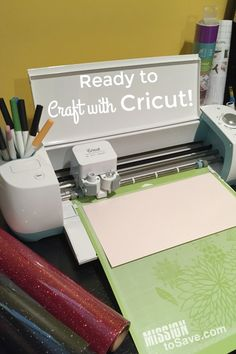 UPDATE: For the Cricut 12 Days of Christmas Promotion, you can get a Cricut Explore Air for just $179.99! Shop here. Did you know that blogger follow other bloggers? Of course we do! Not only for support but inspiration too. As I started to post more DIY projects on Mission to Save, I would see a lot of bloggers talking about something called a Cricut. This wonderful, magical machine was so intriguing to me. Could it really cut, fold, draw  {Read More}