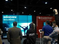The InsideView Booth at #CONV14 #IVCONV14