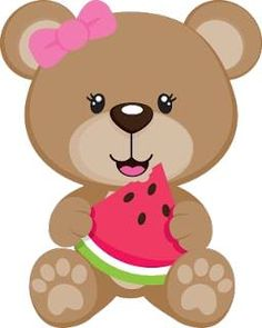 Cute Baby Girl Bear Clipart Cartoon Picture Images Free To Copy For Your Own Personal Use.All Bear Images Are On A Transparent Background Clipart Baby, Bear Clipart, Cute Clipart, Bear Cartoon, Cartoon Pics, Cute Cartoon, Bear Images, Animals Images, Diy And Crafts