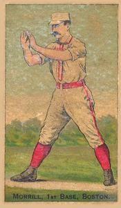 1887 Buchner Gold Coin (N284) #NNO John Morrill Front