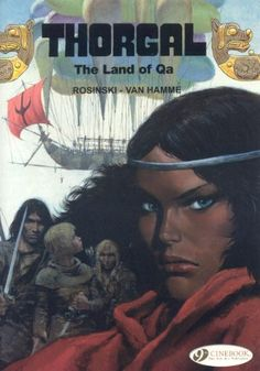 Thorgal: Land of QA v. 5 by Jean van Hamme http://www.amazon.in/dp/1905460805/ref=cm_sw_r_pi_dp_cDy9wb1WT6K5N