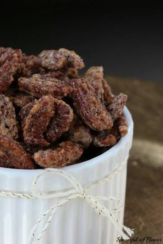 Candied Pecans - so easy and incredibly addicting!