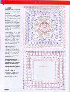 """"""" MOSSITA BELLA PATRONES Y GRÁFICOS CROCHET """": Pulóver, suéter con granny flor y varias puntadas a crochet!"""