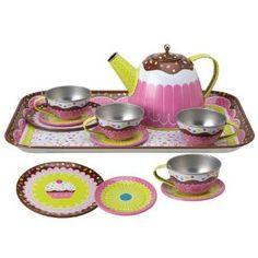 Alex Yummy Tin Tea Set..........totally cute tea set!