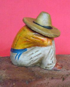 Vintage Mexican Pottery Siesta Man Large By MexicanPottery On Etsy, $6.00