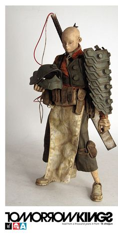 Upcoming figure from 3A toys....I love the art come alive feel of Ashley Wood's stuff
