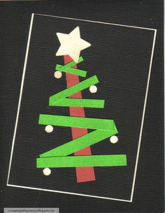 whimsical, Seuss-inspired holiday card made for Operation Write Home and 2012 craft shows