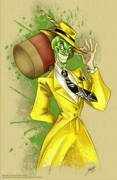 The Mask - Jim Carrey did a good job portraying him, right? Thanks, Mahtab Uddin Cartoon Character Tattoos, Classic Cartoon Characters, Classic Cartoons, Character Art, Character Design, Art Drawings Sketches, Cartoon Drawings, Cartoon Art, The Mask Cartoon