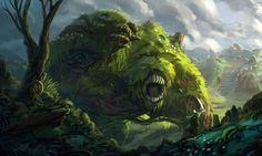 Hill Monster by Domen-Art.deviantart.com on @deviantART