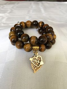 Tigers eye wrap bracelet $18.00