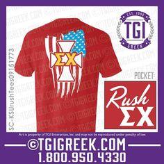 TGI Greek - Sigma Chi - Fraternity Recruitment - Rush - Comfort Colors - Greek T-shirts  #tgigreek #sigmachi #rush
