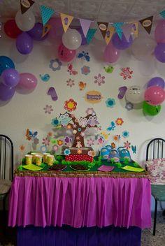 TitiCrafty: The Little Owls Party / La Fiesta de Los Buhitos