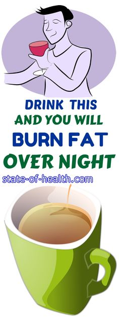 IF YOU DRINK THIS 1 HOUR BEFORE GOING TO SLEEP YOU WILL BURN ALL THE FAT FROM THE PREVIOUS DAY!