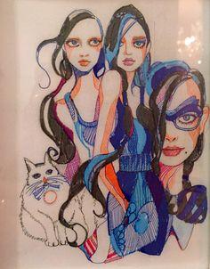 Blue Girls Set illustration 1