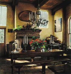 pickering hill mysterious mellow marvelous old world decor diane burn interior design - World Decor