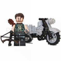 Lego Custom The Walking Dead Daryl Dixon with custom made Crossbow. on Etsy, £14.99