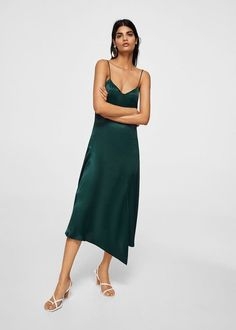 9bbe79019f19 Turn up the sass with this gorgeous satin dress. Silk Satin Dress, Satin  Dresses