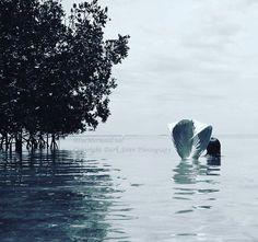 Mermaids Are Real Photo by Dark Siren Photography #mermaidsarereal.net #mermaid #ocean #sea #mangroves #art #photogrpahy #model