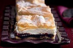 Povidlon Slovak Recipes, Czech Recipes, Russian Recipes, Pie Dessert, Cookie Desserts, Sweet Desserts, Baking Recipes, Cake Recipes, Dessert Recipes