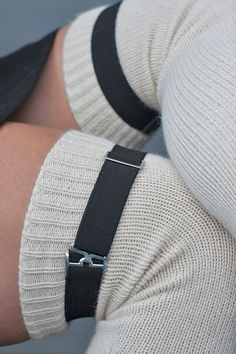 Socks by Sock Dreams » Socks Special Collections » Plus Sized » Extra Long Simply Adjustable Sock Garters