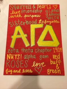 all about agd sorority craft for the future little
